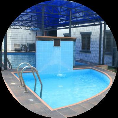 covered pool martina's apartments oniru lagos nigeria